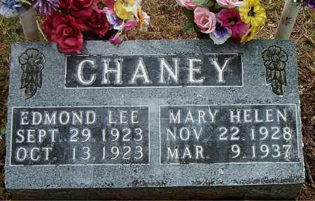 CHANEY, EDMOND LEE - Boone County, Arkansas | EDMOND LEE CHANEY - Arkansas Gravestone Photos
