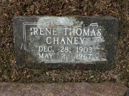 THOMAS CHANEY, IRENE - Boone County, Arkansas | IRENE THOMAS CHANEY - Arkansas Gravestone Photos