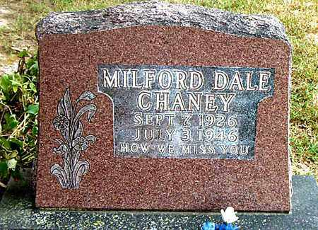 CHANEY, MILFORD DALE - Boone County, Arkansas   MILFORD DALE CHANEY - Arkansas Gravestone Photos