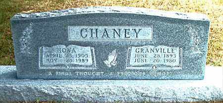 CHANEY, GRANVILLE - Boone County, Arkansas | GRANVILLE CHANEY - Arkansas Gravestone Photos