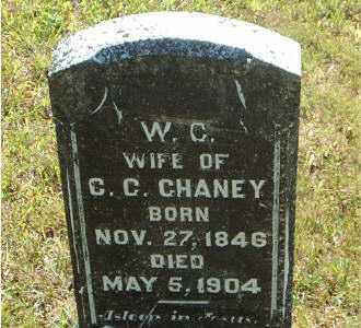 CHANEY, WINNIFRED C. - Boone County, Arkansas | WINNIFRED C. CHANEY - Arkansas Gravestone Photos