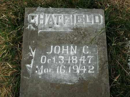 CHATFIELD, JOHN C. - Boone County, Arkansas   JOHN C. CHATFIELD - Arkansas Gravestone Photos