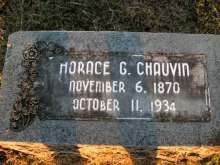 CHAUVIN, HORACE G. - Boone County, Arkansas | HORACE G. CHAUVIN - Arkansas Gravestone Photos