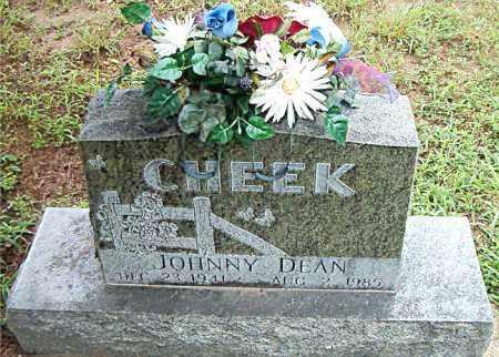 CHEEK, JOHNNY DEAN - Boone County, Arkansas | JOHNNY DEAN CHEEK - Arkansas Gravestone Photos