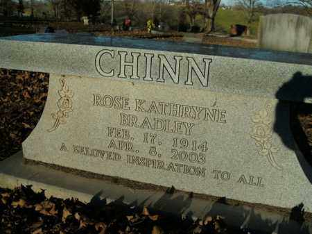 BRADLEY CHINN, ROSE KATHRYNE - Boone County, Arkansas | ROSE KATHRYNE BRADLEY CHINN - Arkansas Gravestone Photos