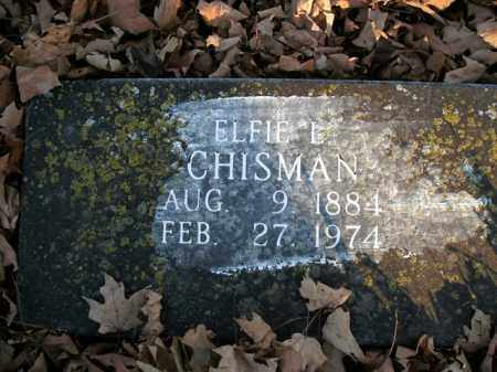 CHISMAN, ELFIE L. - Boone County, Arkansas | ELFIE L. CHISMAN - Arkansas Gravestone Photos
