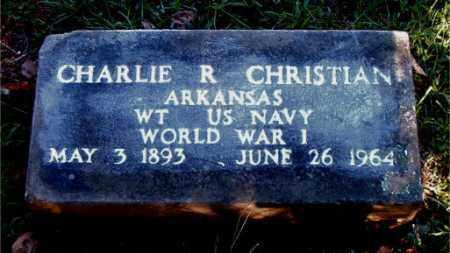 CHRISTIAN  (VETERAN WWI), CHARLIE  R - Boone County, Arkansas | CHARLIE  R CHRISTIAN  (VETERAN WWI) - Arkansas Gravestone Photos