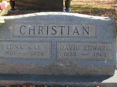 CHRISTIAN, EDNA MAE - Boone County, Arkansas | EDNA MAE CHRISTIAN - Arkansas Gravestone Photos