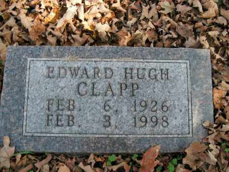 CLAPP, EDWARD HUGH - Boone County, Arkansas | EDWARD HUGH CLAPP - Arkansas Gravestone Photos
