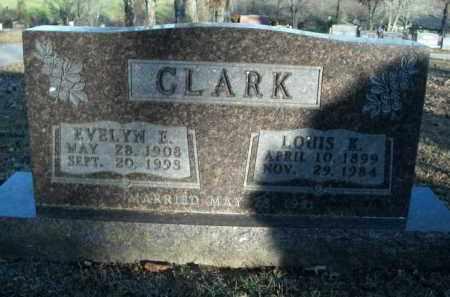 CLARK, EVELYN E. - Boone County, Arkansas | EVELYN E. CLARK - Arkansas Gravestone Photos