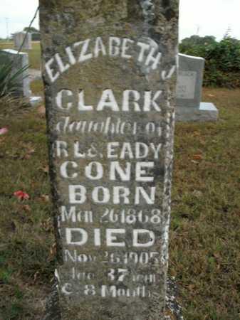 CLARK, ELIZABETH - Boone County, Arkansas   ELIZABETH CLARK - Arkansas Gravestone Photos