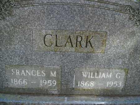 CLARK, FRANCES ORLENA - Boone County, Arkansas   FRANCES ORLENA CLARK - Arkansas Gravestone Photos