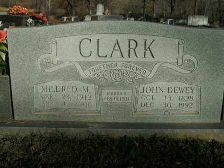 CLARK, MILDRED M. - Boone County, Arkansas | MILDRED M. CLARK - Arkansas Gravestone Photos