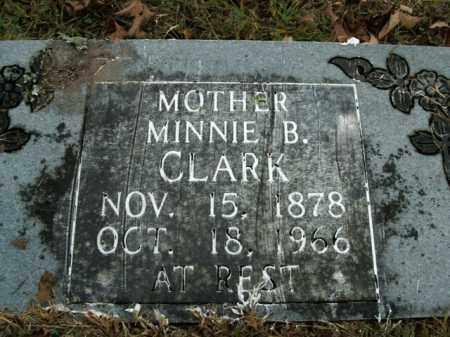 CLARK, MINNIE B. - Boone County, Arkansas | MINNIE B. CLARK - Arkansas Gravestone Photos