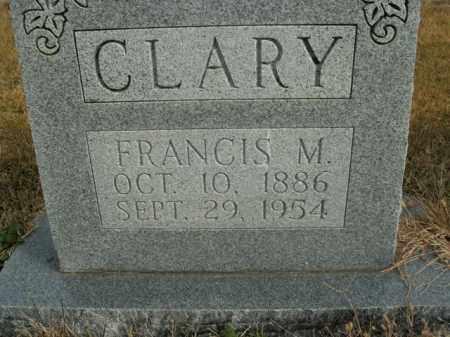 CLARY, FRANCIS M. - Boone County, Arkansas | FRANCIS M. CLARY - Arkansas Gravestone Photos