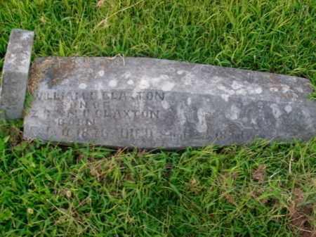CLAXTON, WILLIAM D. - Boone County, Arkansas | WILLIAM D. CLAXTON - Arkansas Gravestone Photos