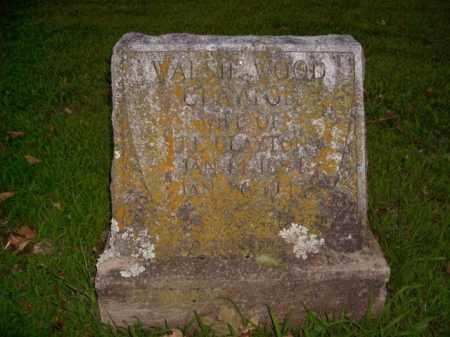 WOOD CLAYTON, WALSIE - Boone County, Arkansas   WALSIE WOOD CLAYTON - Arkansas Gravestone Photos