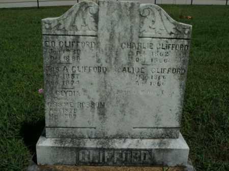 CLIFFORD  (VETERAN CSA), ELI ORMAN - Boone County, Arkansas | ELI ORMAN CLIFFORD  (VETERAN CSA) - Arkansas Gravestone Photos