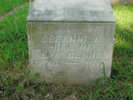 CLOUGH, ELEANOR A. - Boone County, Arkansas | ELEANOR A. CLOUGH - Arkansas Gravestone Photos