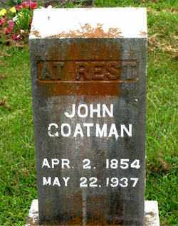 COATMAN, JOHN - Boone County, Arkansas | JOHN COATMAN - Arkansas Gravestone Photos