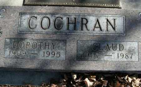 COCHRAN, CLAUD - Boone County, Arkansas | CLAUD COCHRAN - Arkansas Gravestone Photos