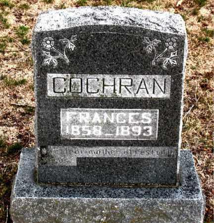 COCHRAN, FRANCES - Boone County, Arkansas | FRANCES COCHRAN - Arkansas Gravestone Photos