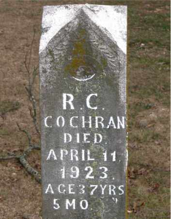 COCHRAN, R. C. - Boone County, Arkansas | R. C. COCHRAN - Arkansas Gravestone Photos