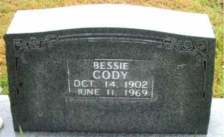 CODY, BESSIE - Boone County, Arkansas | BESSIE CODY - Arkansas Gravestone Photos