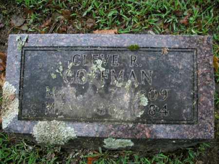 COFFMAN, CLEVE RUPERT - Boone County, Arkansas | CLEVE RUPERT COFFMAN - Arkansas Gravestone Photos
