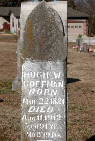 COFFMAN  (VETERAN CSA), HUGH WHITE - Boone County, Arkansas | HUGH WHITE COFFMAN  (VETERAN CSA) - Arkansas Gravestone Photos