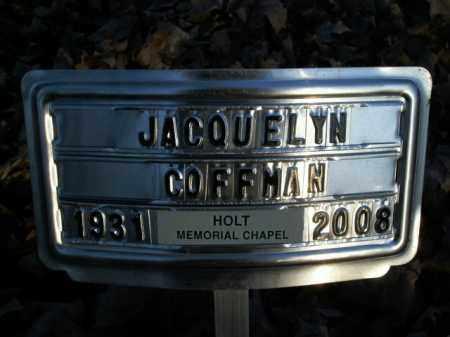 COFFMAN, JACQUELYN - Boone County, Arkansas | JACQUELYN COFFMAN - Arkansas Gravestone Photos