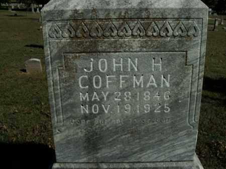 COFFMAN  (VETERAN CSA), JOHN H - Boone County, Arkansas   JOHN H COFFMAN  (VETERAN CSA) - Arkansas Gravestone Photos