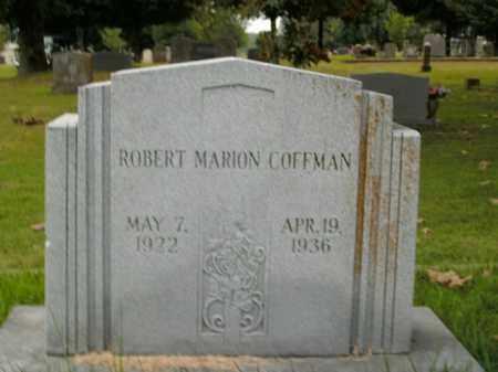 COFFMAN, ROBERT MARION - Boone County, Arkansas   ROBERT MARION COFFMAN - Arkansas Gravestone Photos