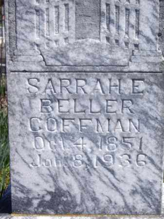 COFFMAN, SARAH E. - Boone County, Arkansas | SARAH E. COFFMAN - Arkansas Gravestone Photos