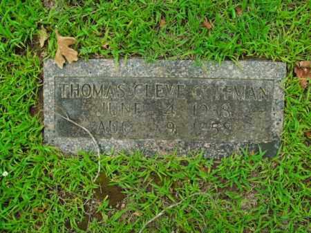 COFFMAN, THOMAS CLEVE - Boone County, Arkansas | THOMAS CLEVE COFFMAN - Arkansas Gravestone Photos