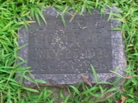 COKER, LESTER E. JR. - Boone County, Arkansas | LESTER E. JR. COKER - Arkansas Gravestone Photos