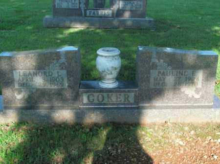 COKER, LEANORD L. - Boone County, Arkansas   LEANORD L. COKER - Arkansas Gravestone Photos