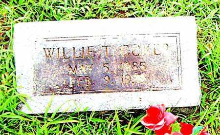 COKER, WILLIE THOMAS - Boone County, Arkansas | WILLIE THOMAS COKER - Arkansas Gravestone Photos