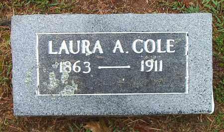 COLE, LAURA A. - Boone County, Arkansas | LAURA A. COLE - Arkansas Gravestone Photos