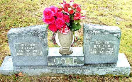COLE, RALPH  B. - Boone County, Arkansas | RALPH  B. COLE - Arkansas Gravestone Photos