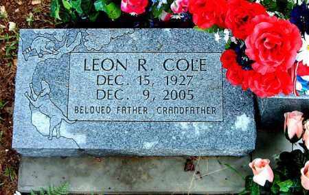 COLE, LEON R. - Boone County, Arkansas   LEON R. COLE - Arkansas Gravestone Photos