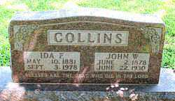COLLINS, IDA FRANCES - Boone County, Arkansas | IDA FRANCES COLLINS - Arkansas Gravestone Photos