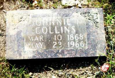 COLLINS, JOHNNIE F. - Boone County, Arkansas | JOHNNIE F. COLLINS - Arkansas Gravestone Photos