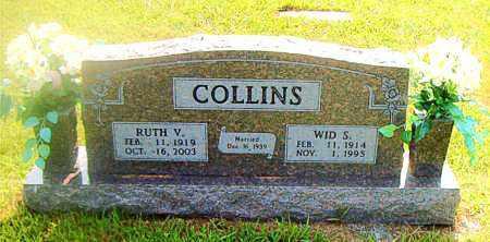 COLLINS, WID S. - Boone County, Arkansas | WID S. COLLINS - Arkansas Gravestone Photos