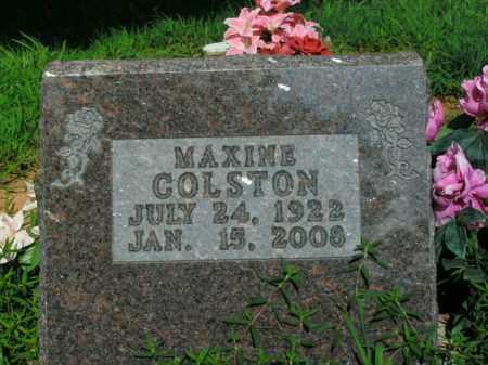 COLSTON, MAXINE - Boone County, Arkansas | MAXINE COLSTON - Arkansas Gravestone Photos