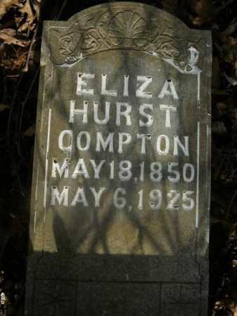 HURST COMPTON, ELIZA - Boone County, Arkansas | ELIZA HURST COMPTON - Arkansas Gravestone Photos