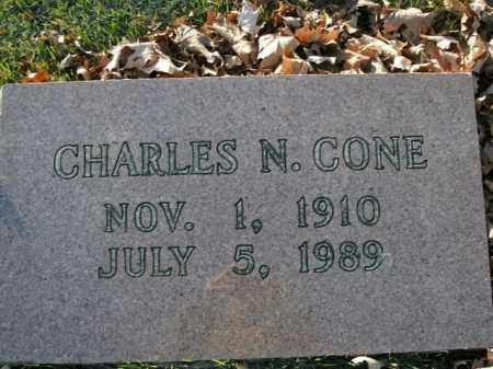 CONE, CHARLES N. - Boone County, Arkansas | CHARLES N. CONE - Arkansas Gravestone Photos