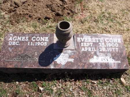 CONE, EVERETT - Boone County, Arkansas   EVERETT CONE - Arkansas Gravestone Photos