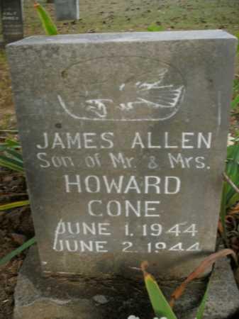 CONE, JAMES ALLEN - Boone County, Arkansas   JAMES ALLEN CONE - Arkansas Gravestone Photos