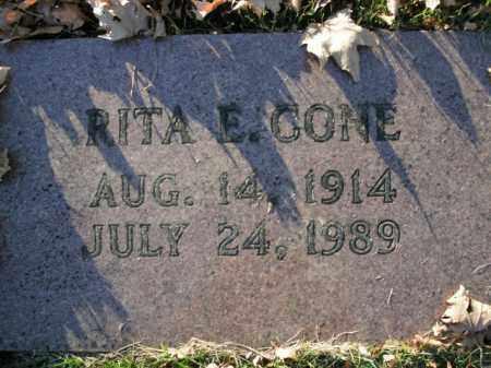CONE, RITA E. - Boone County, Arkansas   RITA E. CONE - Arkansas Gravestone Photos